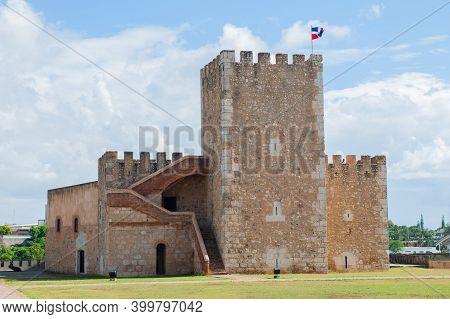 Santo Domingo, Dominican Republic, 25th December 2017. Editorial Stock Picture Of The Fortaleza Ozam