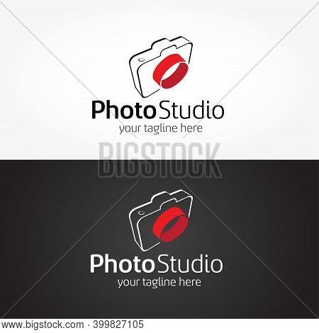 Photography Studio Logo Template