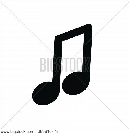 Music Icon. Music Icon Isolated On White Background From Music Collection. Music Icons Trendy And Mo