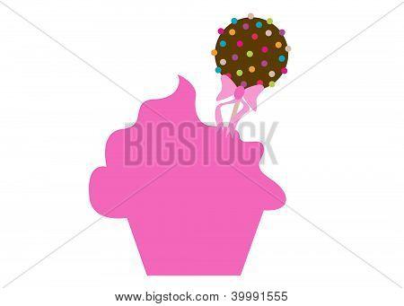 Cupcake Bakery Cake Pop