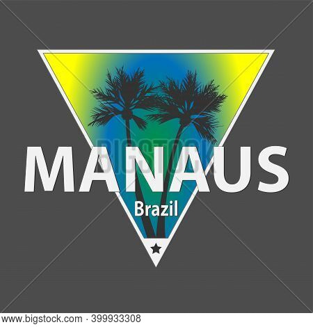 Manaus City In The Jungle Rainforest - Brazil, South America