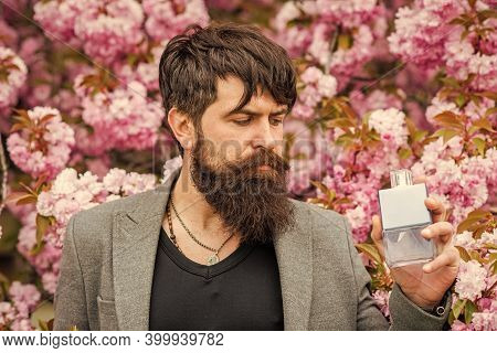 Pure Perfume. Staple For Most Masculine Perfumes. That Is How Spring Smells. Fashionable Hipster In