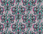 floral abstract seamless vector background wallpaper pattern for textile or wrapping poster