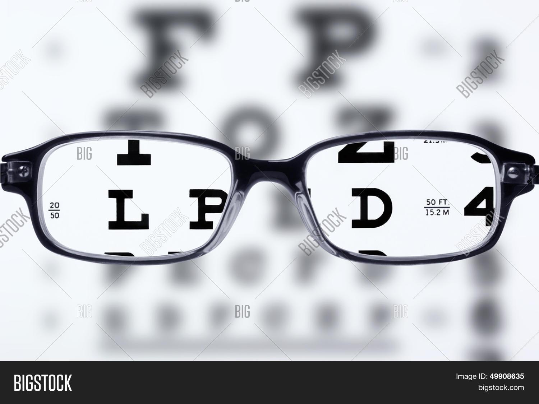 Reading Eyeglasses Eye Image Photo Free Trial Bigstock