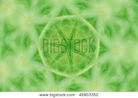 a detail of a green abstract background design poster