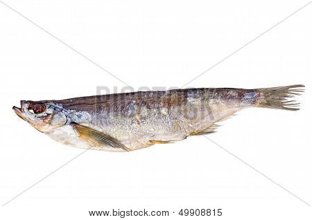Salted and dried sabrefish