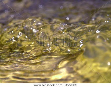 Gushing Water