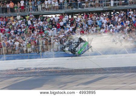 Carl Edwards Crash Nascar Sprint Cup Series Aarons 499 Apr 26