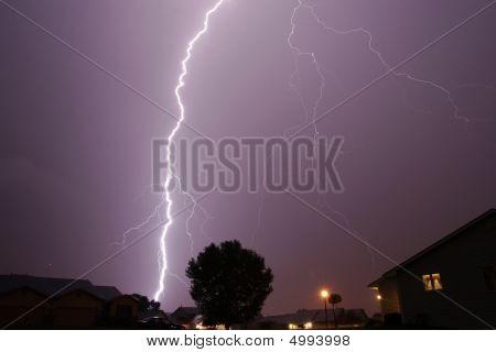 Lightning Cloud To Ground