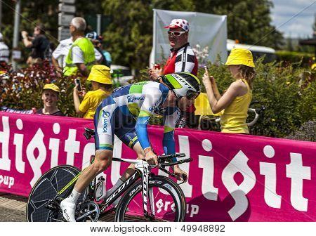 The Australian Cyclist Matthew Harley Goss