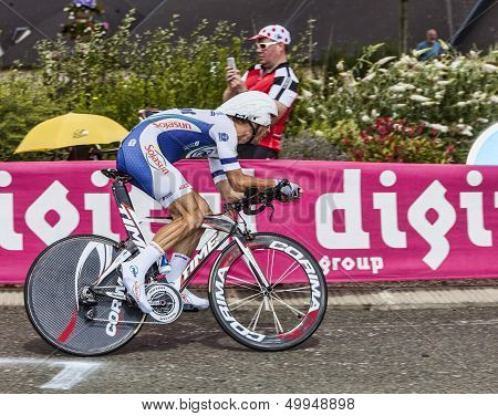 The French Cyclist Jimmy Engoulvent