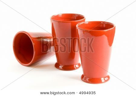 Three Red Cups