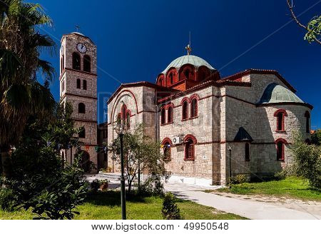 Orthodox Church In Pefkochori, Greece