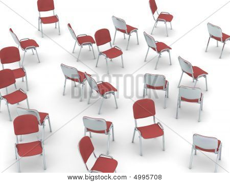 Scattered Chairs