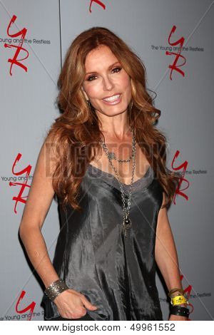 LOS ANGELES - AUG 24:  Tracey E Bregman at the Young & Restless Fan Club Dinner at the Universal Sheraton Hotel on August 24, 2013 in Los Angeles, CA