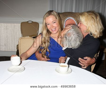 LOS ANGELES - AUG 24:  Jennifer Gareis, John McCook, Alley Mills at the Bold n Beautiful QnA and Autograph Event  at the Universal Sheraton Hotel on August 24, 2013 in Los Angeles, CA