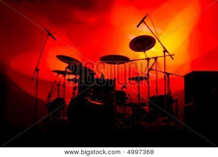 Drums In Lights