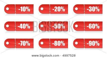 Shopping Vector Tags