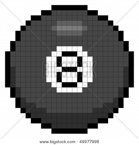 8-bit Pixel 8 Ball