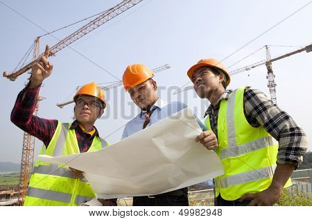 Construction teamwork