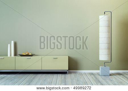 modern design of lounge room