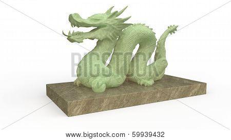 Dragon Stature Stone