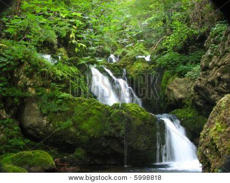 waterfall Kropa