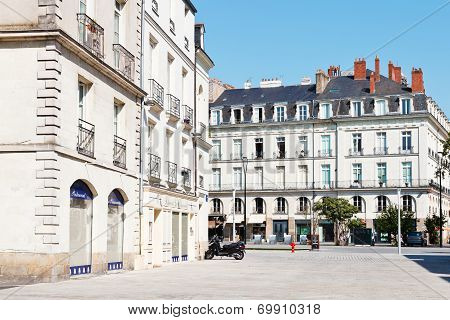 Square Place Du Bouffay In Nantes, France