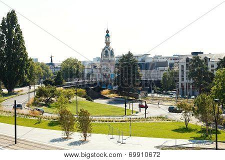 Square Place De La Duchesse Anne In Nantes, France