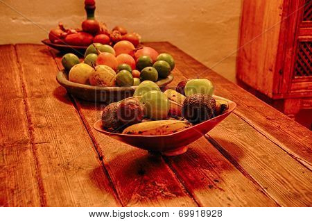 Various Fruits you will encounter Of Colombia poster