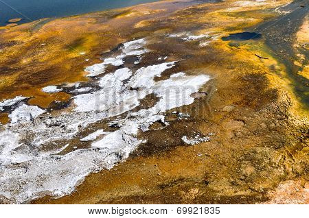 One Of The Many Scenic Landscapes Of Yellowstone National Park, Wyoming, Usa poster