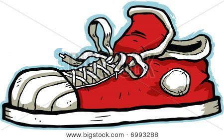 Cartoon-Sneaker