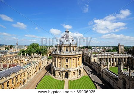 Radcliffe Camera, Oxford.