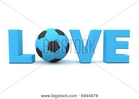 Futebol amor azul