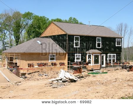 Construction Site In The Country