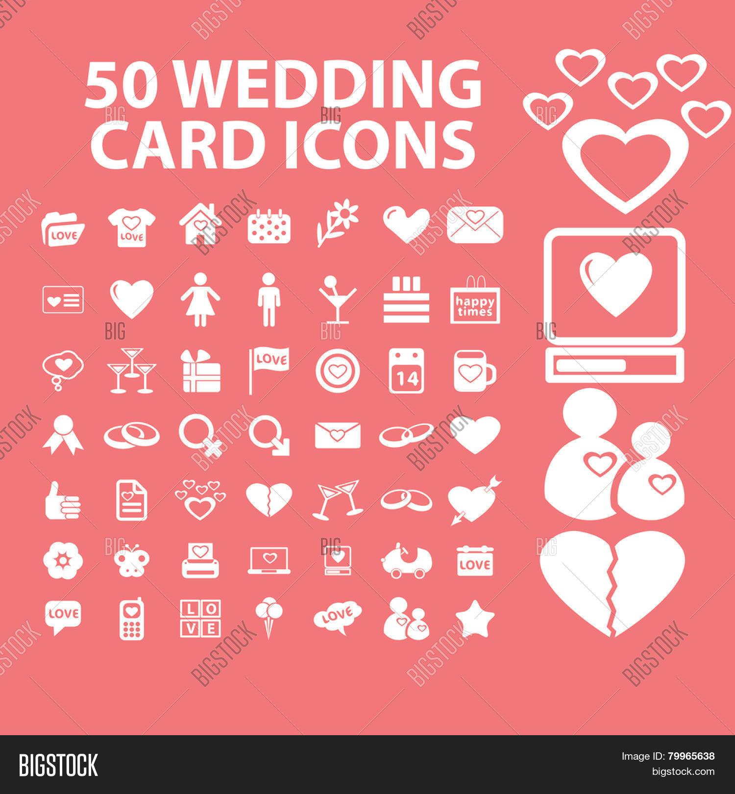 50 Wedding Card Vector Photo Free Trial Bigstock