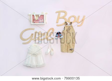 Girl or Boy? Baby shower party design