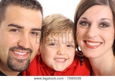 美丽家庭肖像