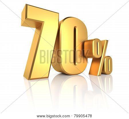 Gold 70 Percent