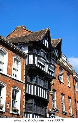 House of the Golden Key, Tewkesbury.