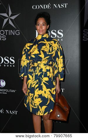 LOS ANGELES - JAN 9:  Tracee Ellis Ross at the W Magazine`s Shooting Stars Exhibit at the Old May Company Building on January 9, 2015 in Los Angeles, CA