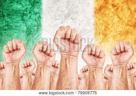 Ireland Labour Movement, Workers Union Strike
