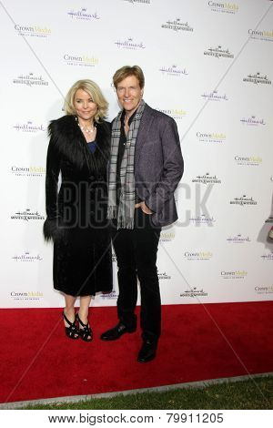 LOS ANGELES - JAN 8:  Kristina Wagner, Jack Wagner at the Hallmark TCA Party at a Tournament House on January 8, 2014 in Pasadena, CA