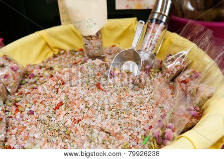 Pink Sea Salt - Fleur De Sel For Selling. Provence, France