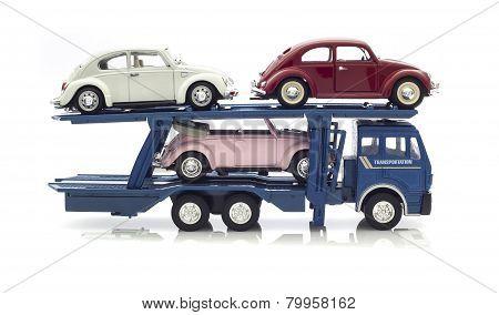 3 Vw Beetles Transporter