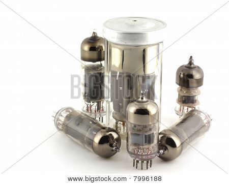 Old Triodes (valves).