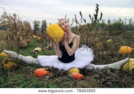 Dancer in the field