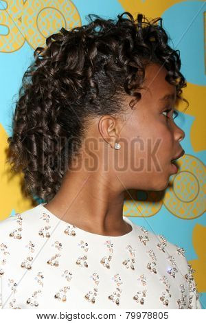LOS ANGELES - JAN 11:  Quvenzhane Wallis at the HBO Post Golden Globe Party at a Circa 55, Beverly Hilton Hotel on January 11, 2015 in Beverly Hills, CA
