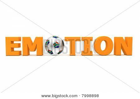 Futebol emoção South Africa - laranja