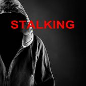 high resolution picture of a stalking concept poster